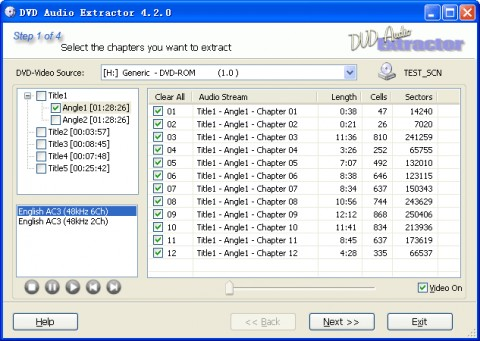 View screenshot x2x free audio converter