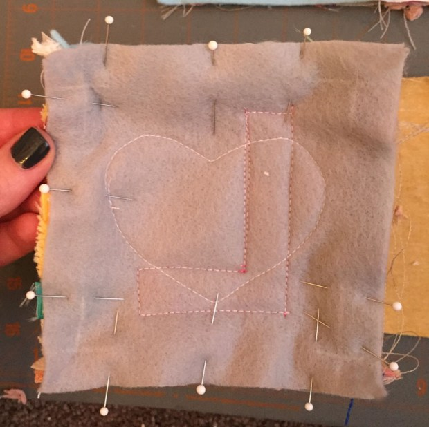 Easy texture block sewing tutorial