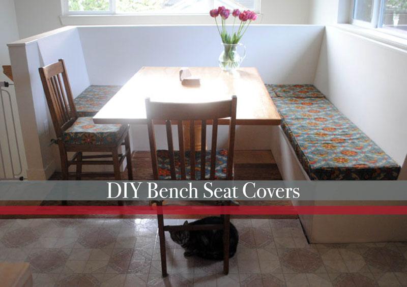 diy bench seat cushion covers
