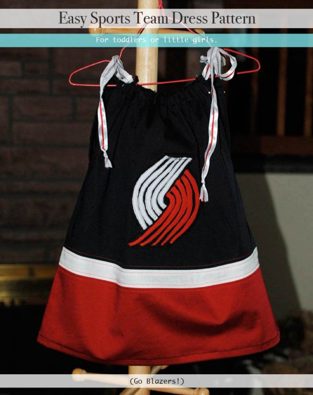 easy sports team dress pattern2