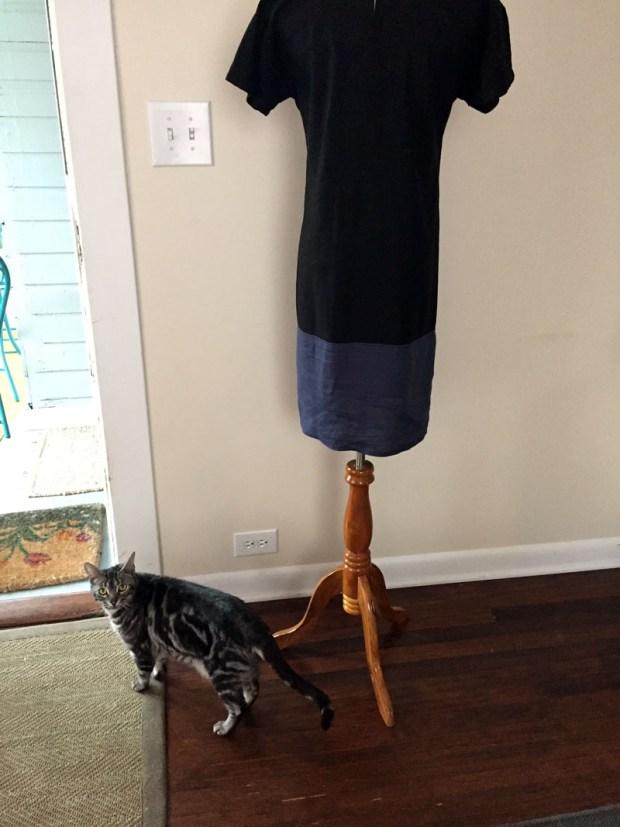 DIY easy weekend dress