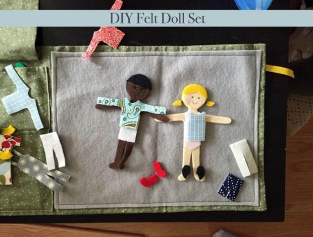 felt doll set
