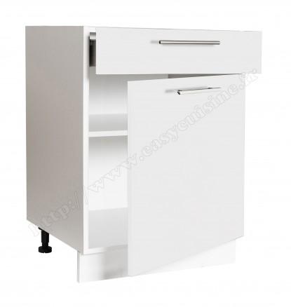 meuble bas cuisine 60 cm 1 porte 1