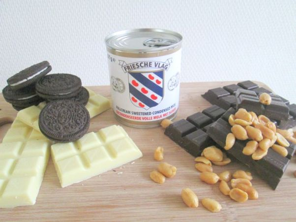 chocolade fudge maken