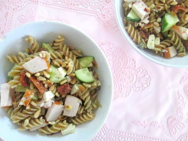 makkelijke pasta salade