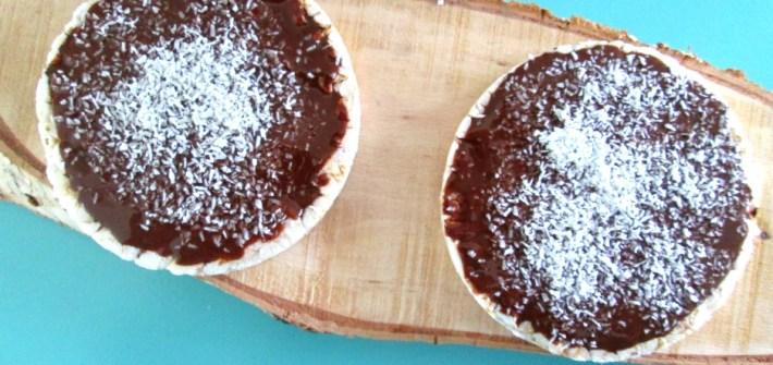 chocolade rijstwafel