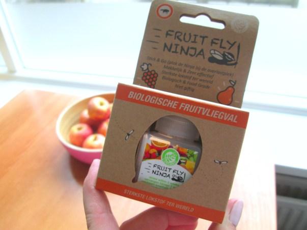 oplossing tegen fruitvliegjes