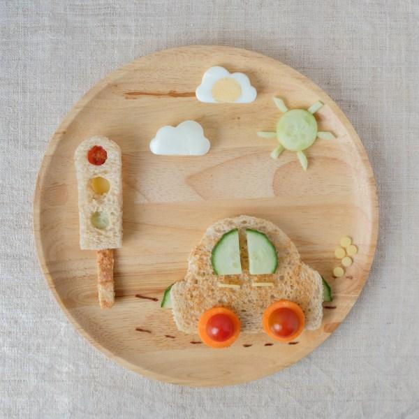 leuke food art kids