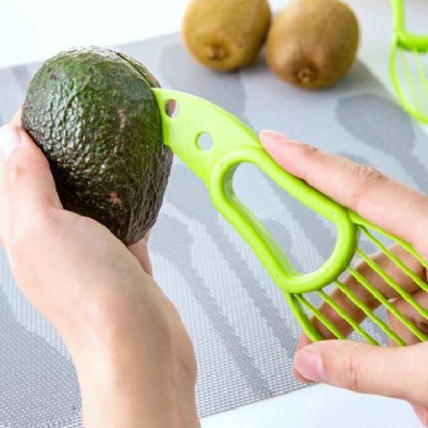 avocado snijder 3 in 1