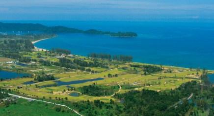 Aussicht Khao Lak Golfplatz