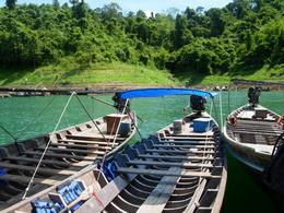 Khao Sok See Ausflug mit Longtailboot