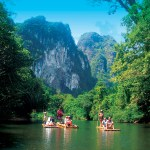 Bamboo Rafting in Khao Sok National Park with Khao Lak Tours