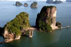 Super Ausflung von Khao Lak in der Nebensaison in die Phang Nga Bay.