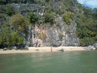 Phang Nga Bay Caves & Sea Canoe Tour - Beach at Koh La Na