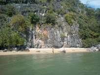 Phang Nga Bay Caves & Sea Canoe Tour - Beach at Koh La Na