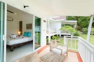 balcony of Superior Villa