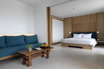 BlueMoon Suite - Bedroom - at The Nap Patong
