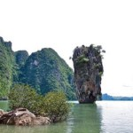Phuket Tours to James Bond Island, Phang Nga Bay near Phuket.