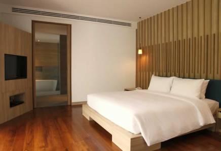 Signature Pool Villa - Double Bedroom at The Nap Patong