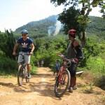 Bikers exploring Koh Yao Islands
