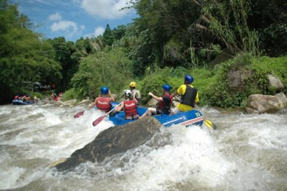 White Water Rafting with Phuket Rafting Tours