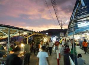 Weekend Market Phuket at Naka Temple
