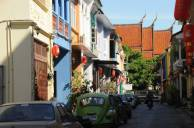 Discover side street in Old Phuket Town on a full day tour Phuket