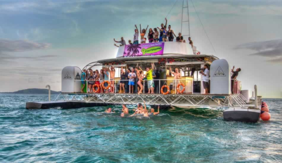 Where Is The Party Beach On Phi Phi Island