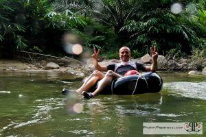 Safari nella giungla a Kapong - Tubing sul fiume a Phuket