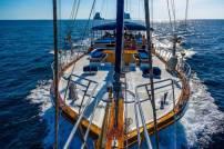 Private Phuket Island Cruises - Bow