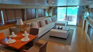 MY Victory Salon 2 - Luxury Yacht Charter Phuket