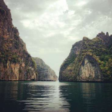Phi Ley Lagoon - entrance