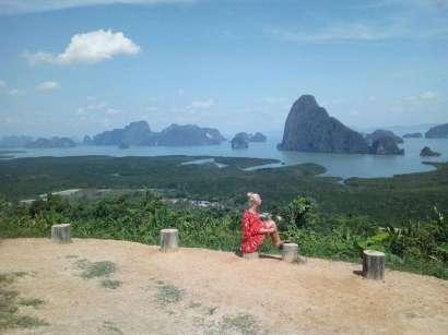 Phang Nga Bay Caves Phuket Tours - Samet Nangshe Viewpoint