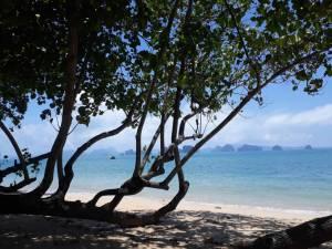 View into Phang Nga Bay