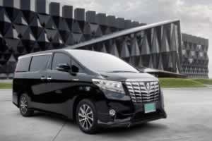 Phuket Limousine - Alphard-black-exterior