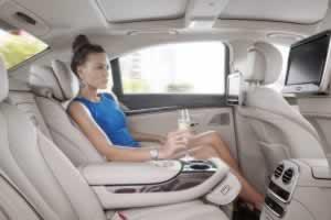 Phuket Limousine - Mercedes-S500e-interior