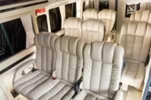 Phuket Limousine - Sprinter-interior