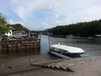 Speedboats at Bang Rong Pier