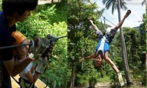Koh Samui Ziplining Adventure