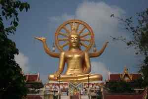 Big Buddha - Bangrak Beach