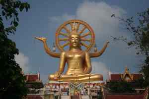 Big Buddha - Bangrak Beach