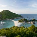 Koh Nang Yuan offers the best snorkeling from Samui