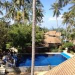 Dive pool at Coral Grand resort