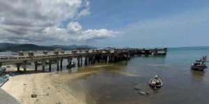 Ferry Piers on Samui Island - bangrak Pier