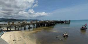 Ferry Piers on Samui Island - bangrak Pier