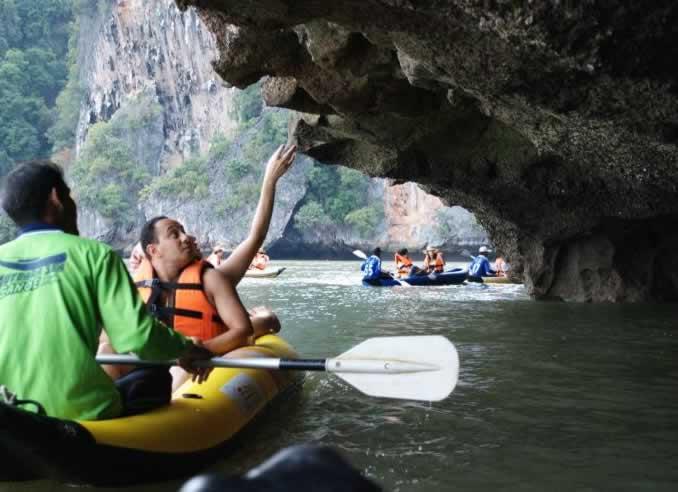 Krabi Phang Nga Bay Sea Canoe Highlights