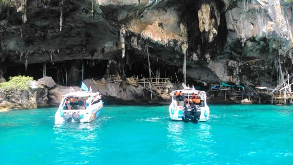 Koh Phi Phi Tour Krabi - Viking Cave