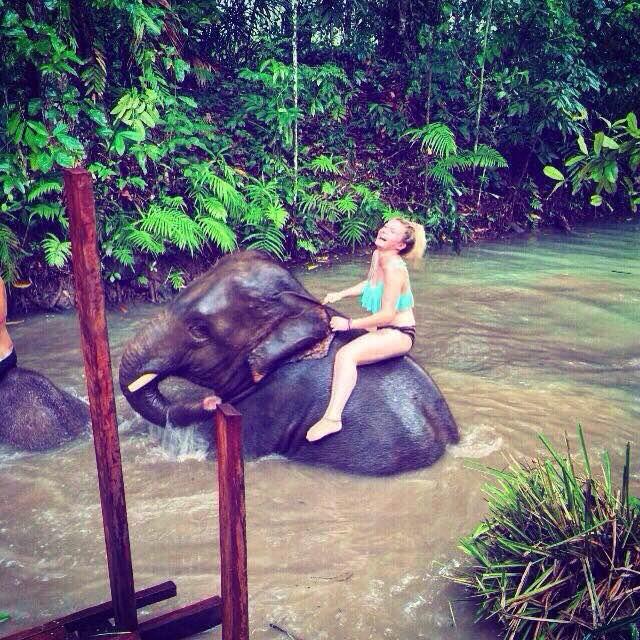 ATV Krabi Tour - Elephant Bathing