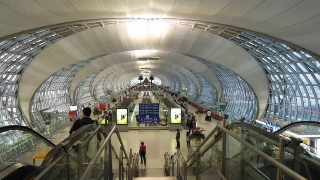 Hasil gambar untuk bandara suvarnabhumi