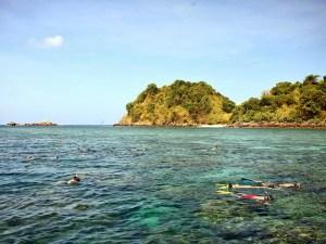 Snorkeling Koh Lanta 4 Islands Tour